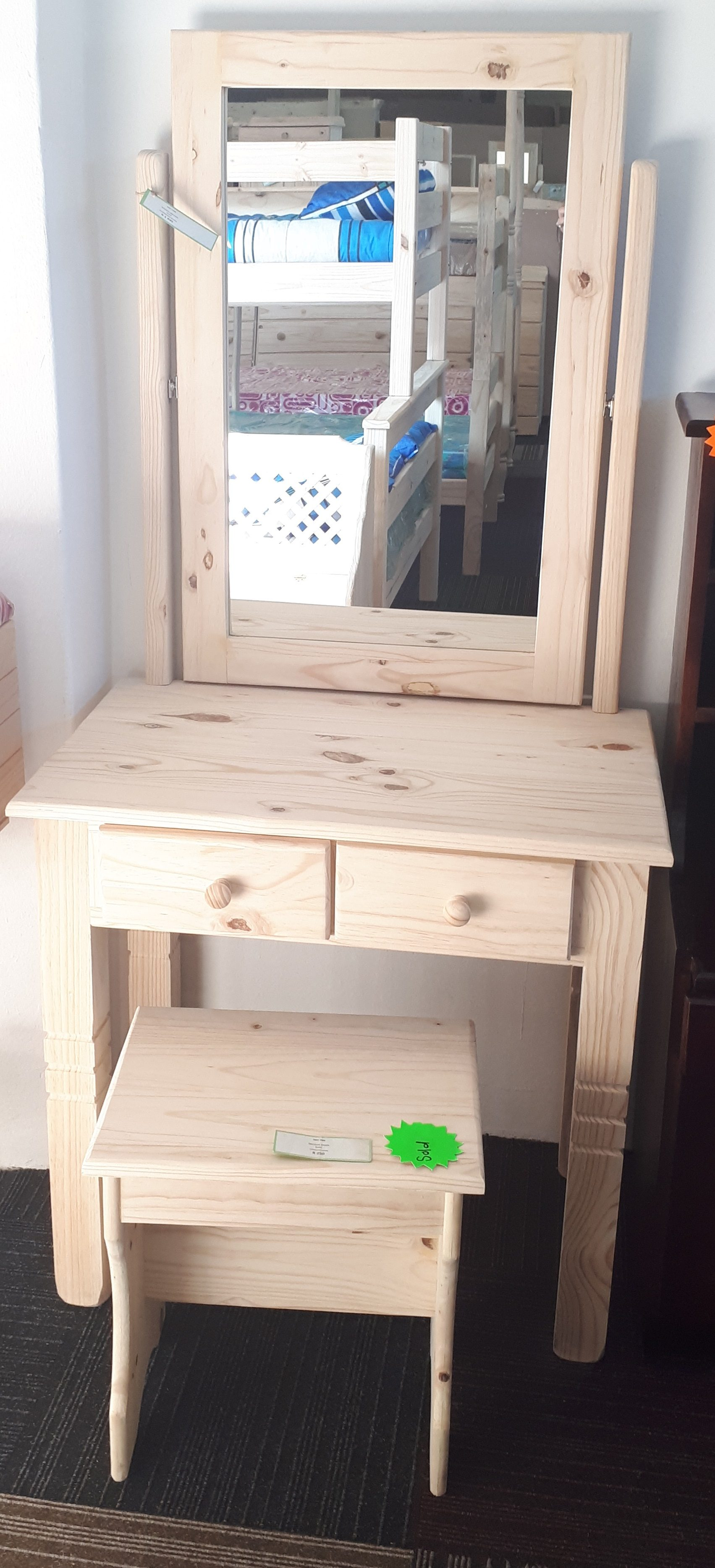 Kiddies Dresser 2 Drawer