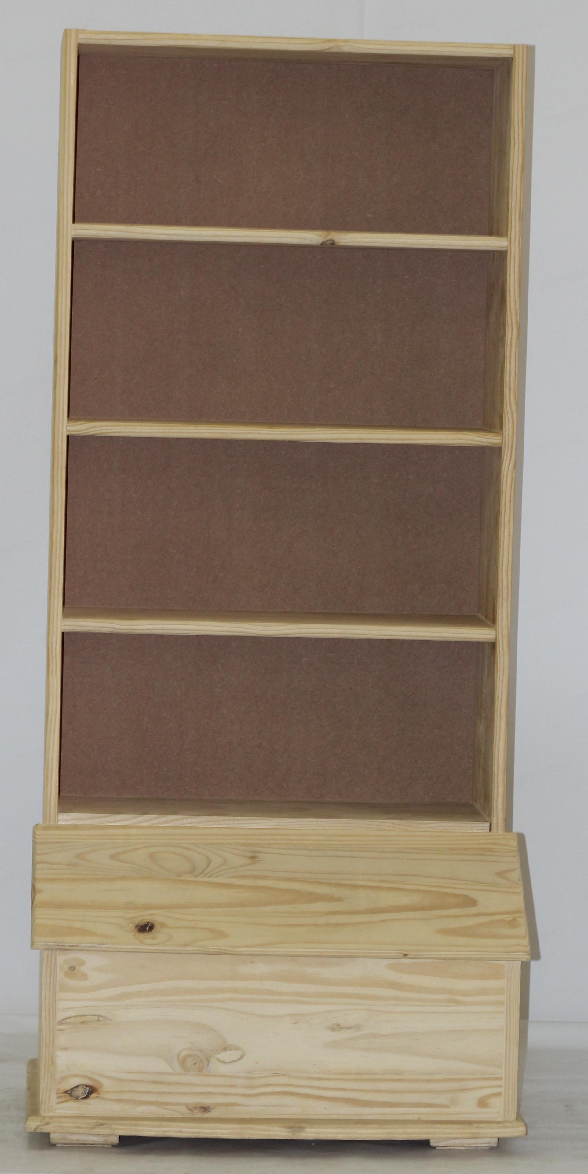 Combo Bookshelf (Toybox bottom)