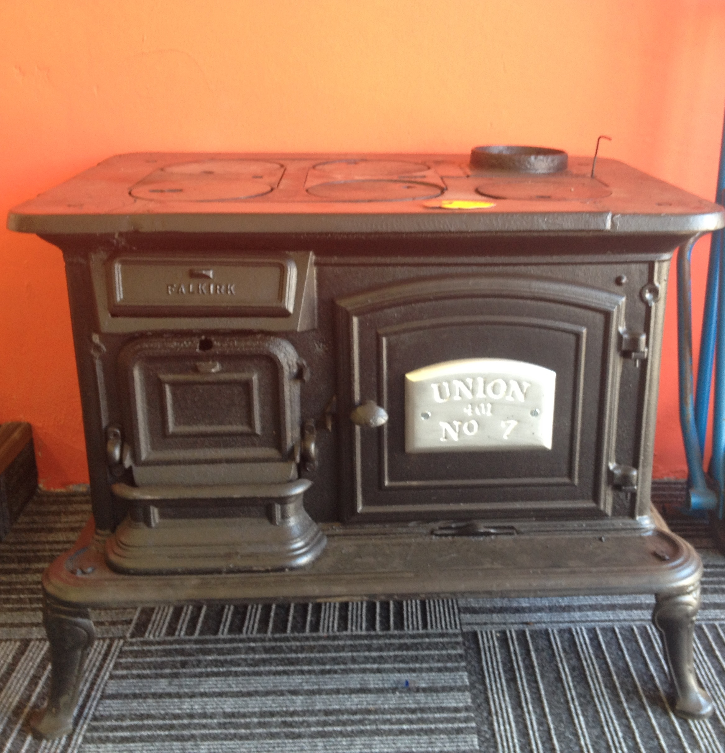 Refurbished Union 7 Coal Stove