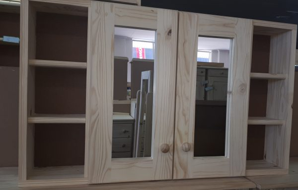 2 Door Bathroom Wall Cabinet