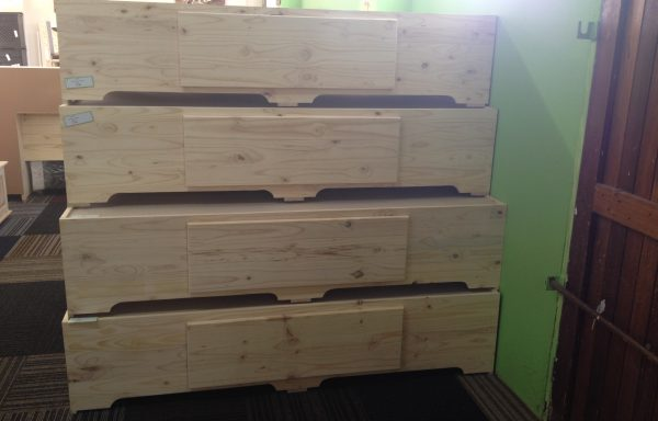 Boxbed with Drawers