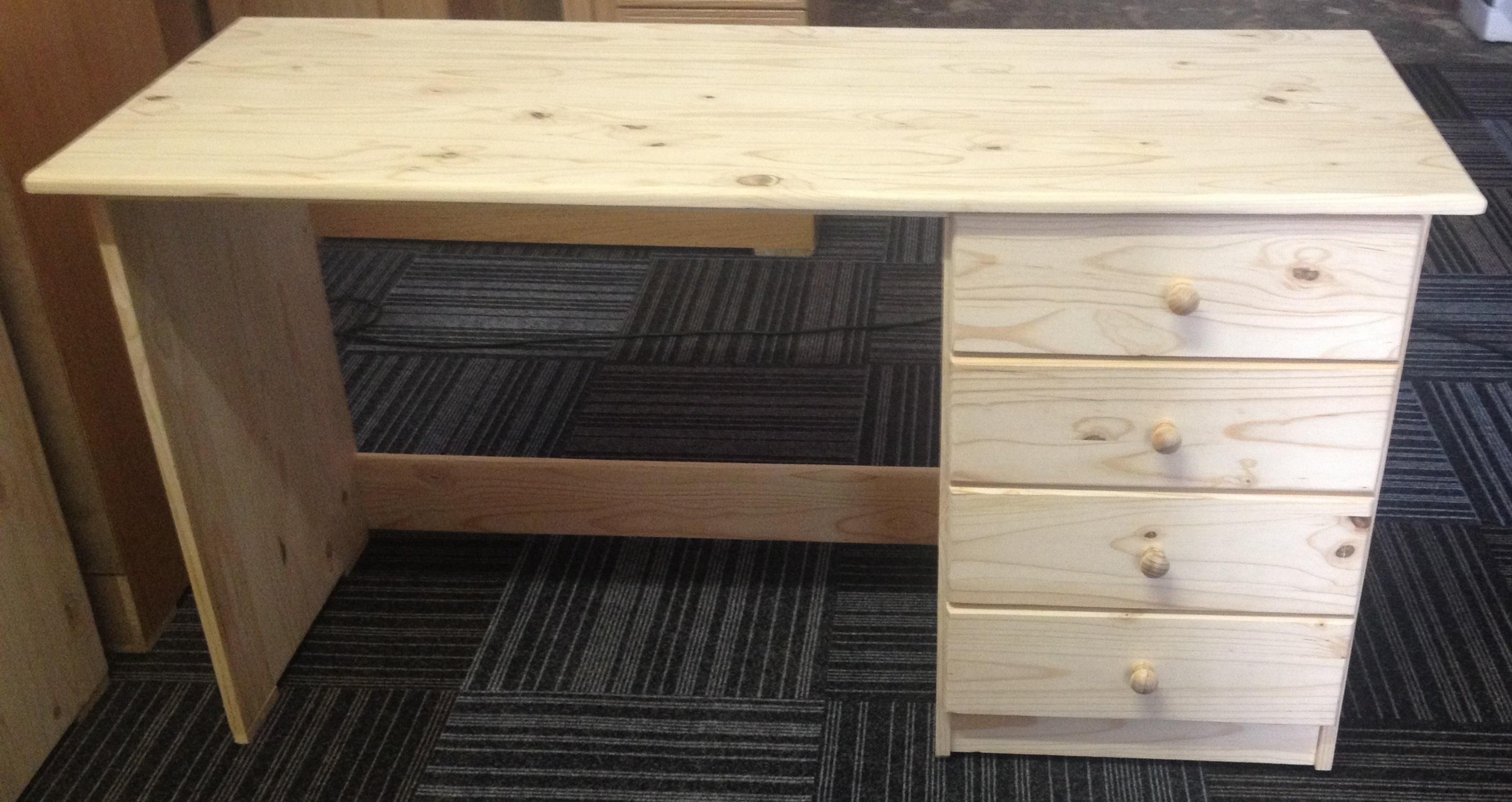 4 Drawer Desk 1200×600