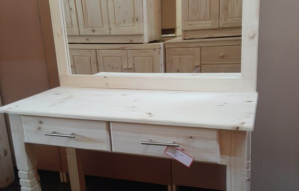 2 Drawer Dresser with Large Mirror